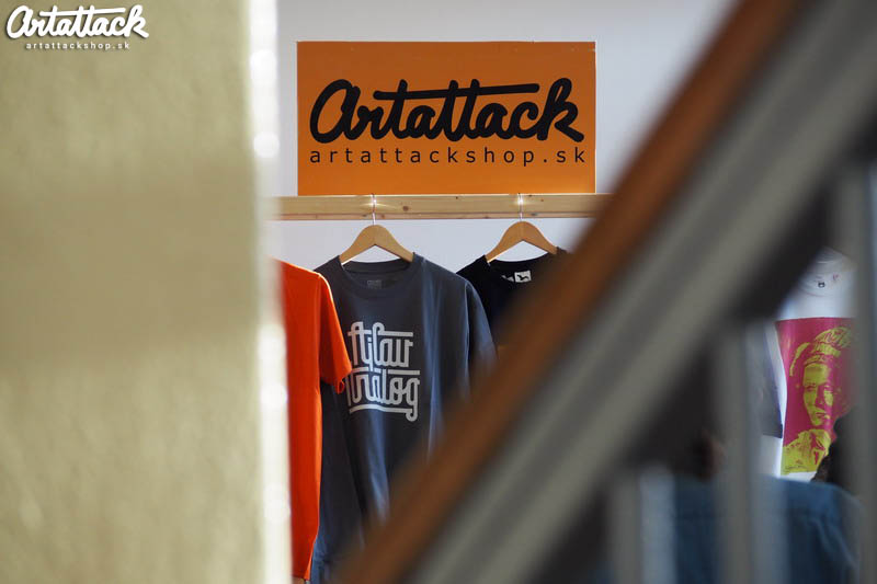 ArtAttack Shop na winter Urban Market 2016