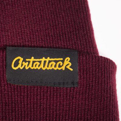 Bordová čiapka Artattack