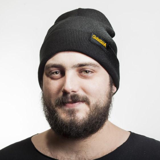 Čierna čiapka Artattack