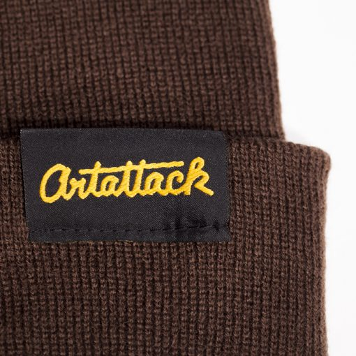 Hnedá čiapka Artattack
