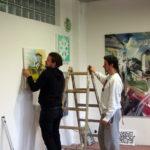 Otváračka ArtAttack Shopu a 1.Máj - Deň otvorených ateliérov v novej Cvernovke