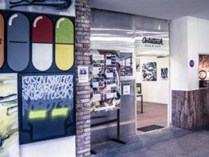 Fotky: Otváračka ArtAttack Shopu a 1.Máj – Deň otvorených ateliérov v novej Cvernovke