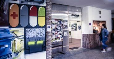 Fotky: Otváračka ArtAttack Shopu a 1.Máj - Deň otvorených ateliérov v novej Cvernovke