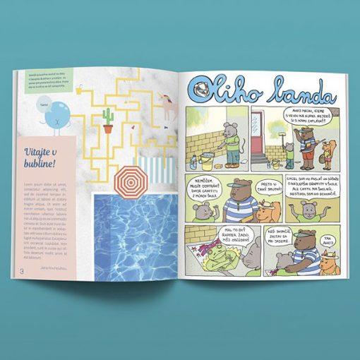 Bublina časopis pre deti