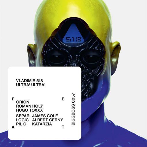 Vladimir 518 - Ultra! Ultra! CD album 2017