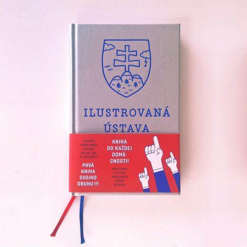 Ilustrovaná ústava Slovenskej republiky – Andrej Kolenčík / kniha