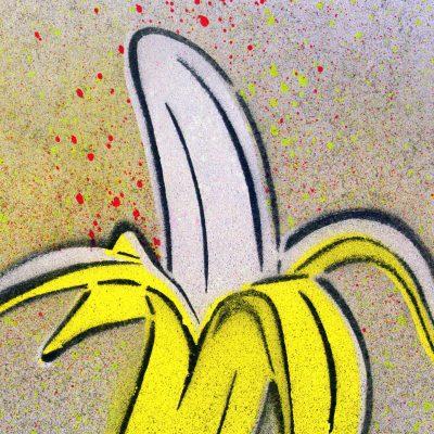 Banana - obraz v plexi rámiku 21 x 30 cm