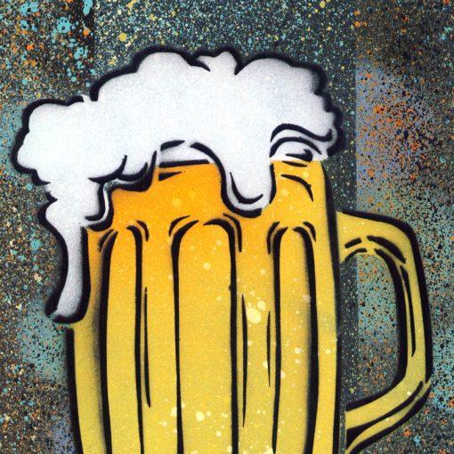 Beer - obraz v plexi rámiku 21 x 30 cm