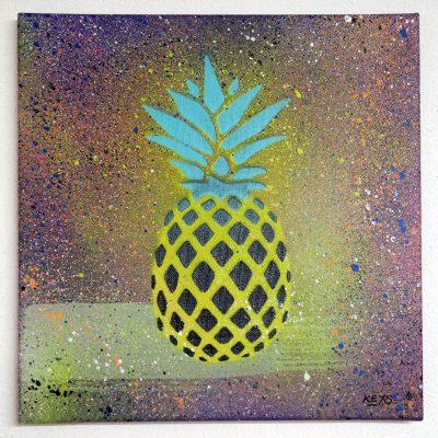 Ananas - obraz na plátne 30 x 30 cm