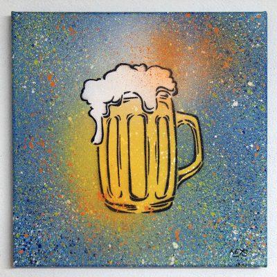 Beer - obraz na plátne 30 x 30 cm
