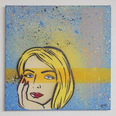 Woman - obraz na plátne 30 x 30 cm