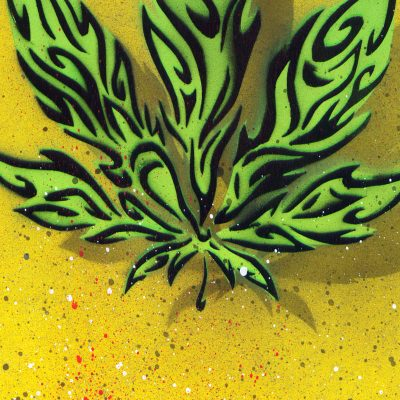 Ganja - obraz v plexi rámiku