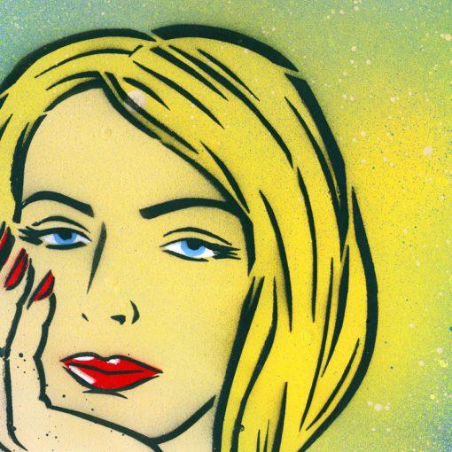 Woman obraz v plexi rámiku 21 x 30 cm