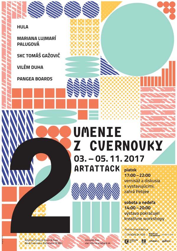 Plagát Umenie z Cvernovky #2
