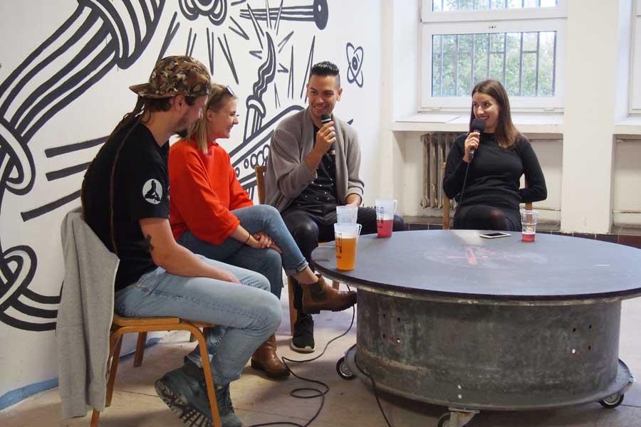 Diskusia na podujatí Umenie z Cvernovky #1
