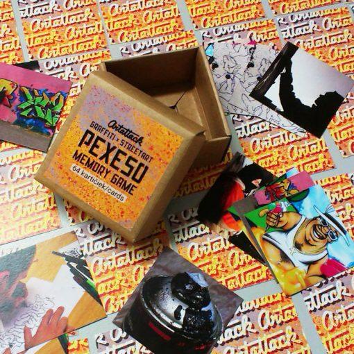 ArtAttack graffiti & streetart pexeso