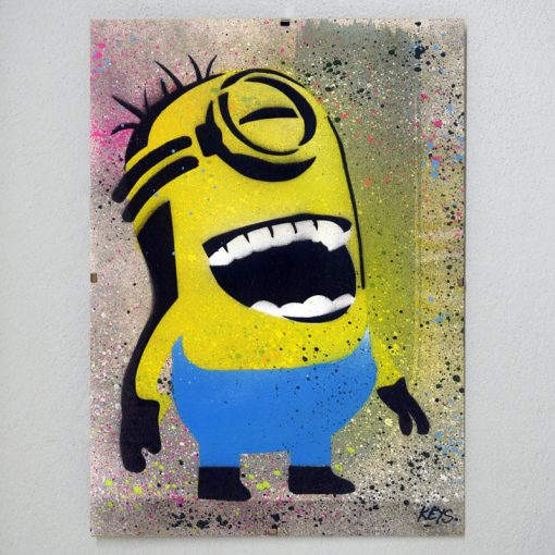Minions obraz v plexi rámiku 21 x 30 cm