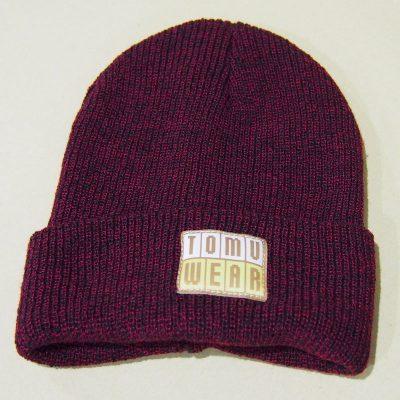 Bordová čiapka TomuWear
