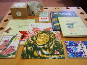 Prírastky od Egreš v Shop & Room: Kalendár, pexeso, detské knižky a grafiky