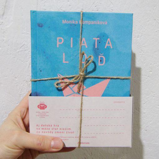 Piata loď - Monika Kompaníková / DVD + kniha pack