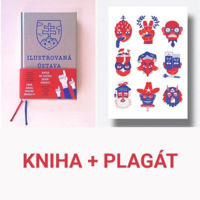 Ilustrovaná ústava Slovenskej republiky / kniha + plagát
