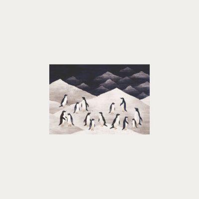 Antarktída - plagátik / obrázok A4