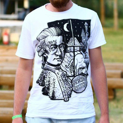 Mozart biele tričko