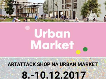 ArtAttack Shop už tento víkend v Bratislave na Urban Market
