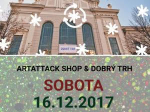 Vianočný Dobrý trh v Starej tržnici a okolí 2017