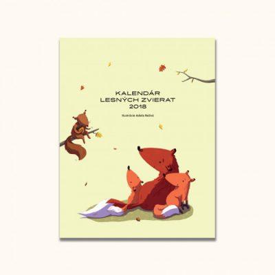 Kalendár lesných zvierat 2018