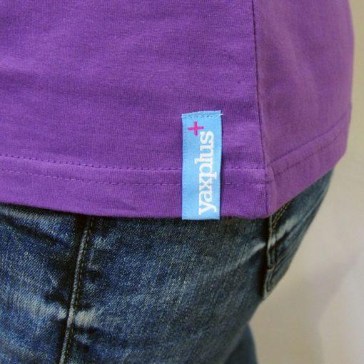 Fialové dámske tričko I love your pocket, and you too!