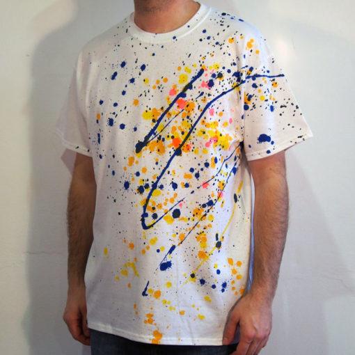 Biele Streetart tričko #3 (veľkosť L)