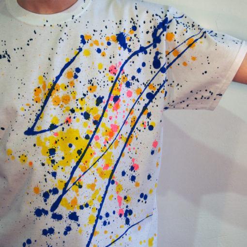 Biele Streetart tričko #4 (veľkosť L)