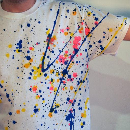 Biele Streetart tričko #5 (veľkosť L)