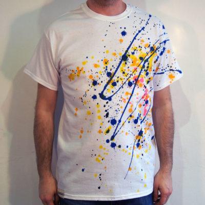 Biele Streetart tričko #8 (veľkosť M)