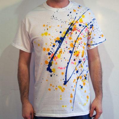 Biele Streetart tričko #10 (veľkosť M)