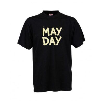 Čierne tričko May Day Cvernovka