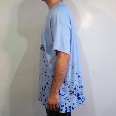 Modré Streetart tričko #1 (veľkosť XL)