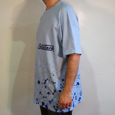 Modré Streetart tričko #2 (veľkosť XL)