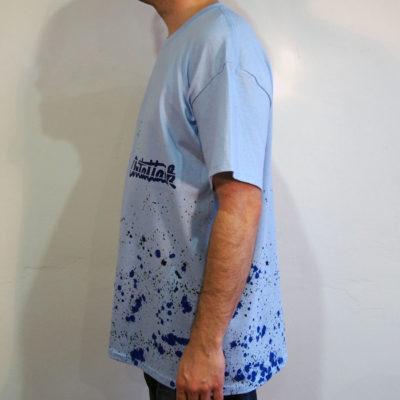 Modré Streetart tričko #3 (veľkosť L)
