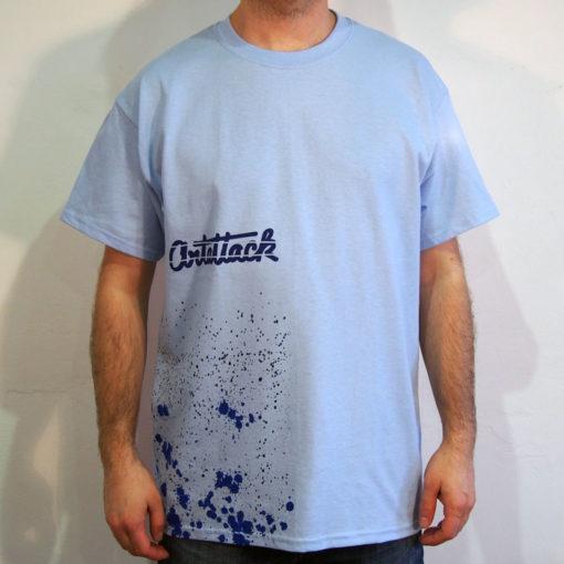 Modré Streetart tričko #4 (veľkosť L)