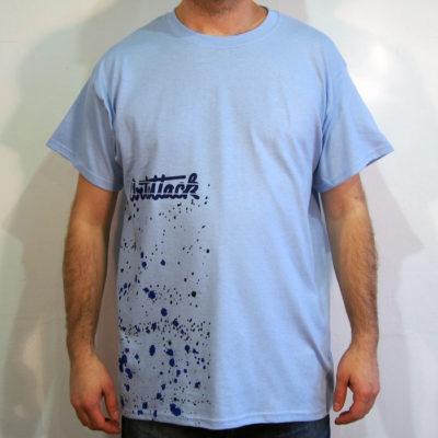 Modré Streetart tričko #5 (veľkosť L)