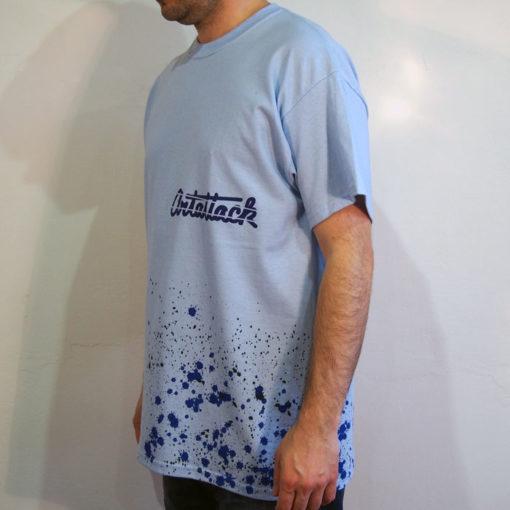 Modré Streetart tričko #6 (veľkosť L)