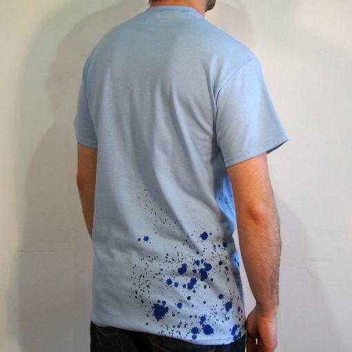 Modré Streetart tričko #8 (veľkosť M)