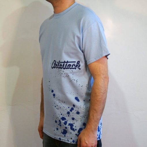 Modré Streetart tričko #9 (veľkosť M)