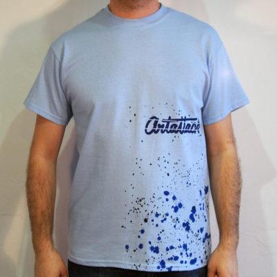 Modré Streetart tričko #10 (veľkosť M)