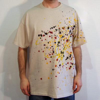 Pieskové Streetart tričko #1 (veľkosť XL)