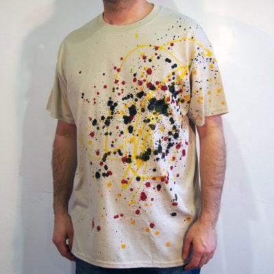 Pieskové Streetart tričko #4 (veľkosť L)