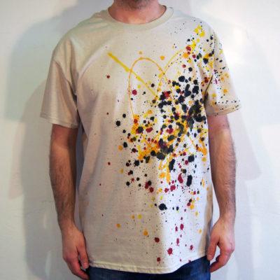 Pieskové Streetart tričko #5 (veľkosť L)