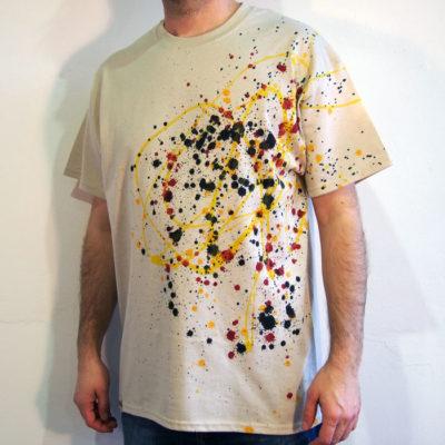 Pieskové Streetart tričko #6 (veľkosť L)